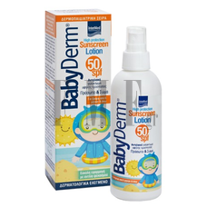 BABYDERM Sunscreen Lotion Face & Body  SPF 50 - 200ml
