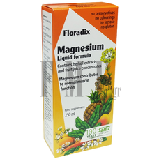 POWER HEALTH Floradix Magnesium Liquid Formula - 250ml.