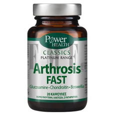 POWER HEALTH Platinum Range Arthrosis Fast - 20 Caps.