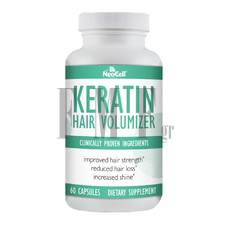 NEOCELL Keratin Hair Volumizer - 60 caps.