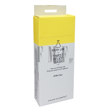 YOUTH LAB Thirst Relief Mask Φακελάκια - 12 x 12ml.