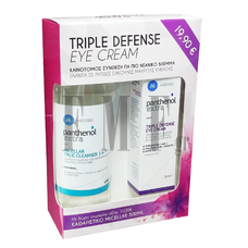 PANTHENOL EXTRA Triple Defense Eye Cream - 25 ml. & Micellar True Cleanser 3 in 1 - 500 ml.