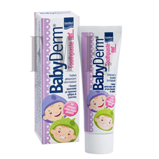 INTERMED BABYDERM Toothpaste Τσιχλόφουσκα - 50ml.