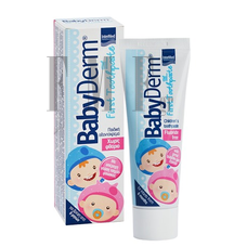 INTERMED BABYDERM First Toothpaste Τσιχλόφουσκα - 50ml.