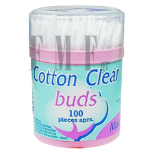BUDS Cotton Clear Make up - 100Τεμ.