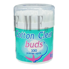 BUS Cotton Clear Regular - 100 Τεμ.