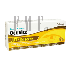 BAUSCH & LOMB Ocuvite Lutein Forte - 30 Tabs.