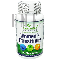 NATURAL VITAMINS Women's Transitions - 60 Caps.