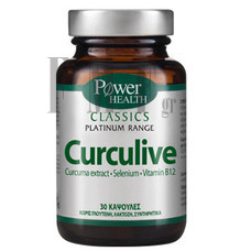 POWER HEALTH Platinum Range Curculive - 30 Caps.