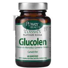 POWER HEALTH Platinum Range Glucolen - 60 Caps.