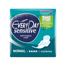 EVERYDAY Normal Ultra Plus Sensitive - 10 Τεμ.