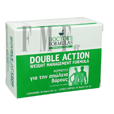 DOCTOR'S FORMULAS Double Action - 60 Tabs.