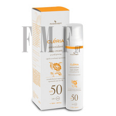 CLERIA Antioxidant Sun Cream SPF50 - 50 ml.