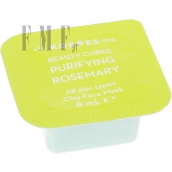 KORRES Beauty Cubes Purifying Rosemary All Skin Types Clay Face Mask - 8 ml.