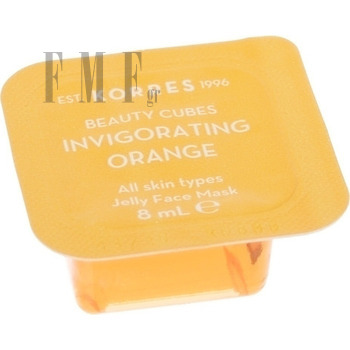 KORRES Beauty Cubes Invigorating Orange All Skin Types Jelly Face Mask - 8 ml.