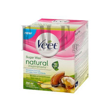 VEET Sugar Wax Natural Inspirations - 250 ml.