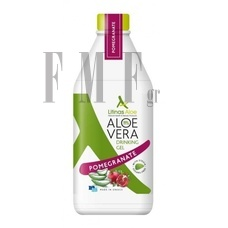 LITINAS Aloe Vera Drinking Gel Pomegranate - Ρόδι - 1000 ml.