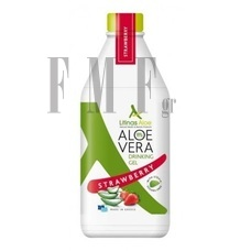 LITINAS Aloe Vera Drinking Gel Strawberry - Φράουλα - 1000 ml.