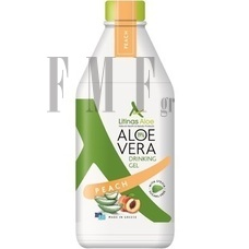 LITINAS Aloe Vera Drinking Gel Peach - Ροδάκινο - 1000 ml.