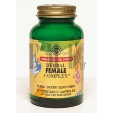 SOLGAR Herbal Female Complex - 50 Caps.