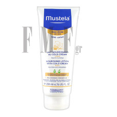 MUSTELA Bebe Enfant Nourishing Lotion with Cold Cream για Ξηρό Δέρμα - 200ml