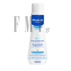 MUSTELA Bebe Enfant Multi-Sensory Bubble Bath - 200ml