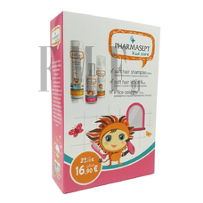 PHARMASEPT Kid Care Promo Pack Girl Soft Hair Shampoo 300ml & X-Lice Cologne 100ml & Soft Hair Lotion 150ml