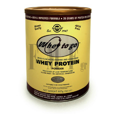SOLGAR Whey to Go Protein Powder Βανίλια - 907 gr.