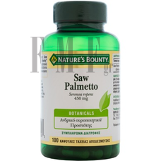 NATURE'S BOUNTY  Saw Palmetto 450 mg - 100 Caps