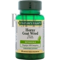 NATURE'S BOUNTY Horny Coat Weet 250mg με Μάκα - 60 Caps.