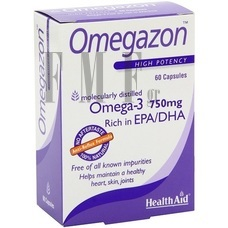 HEALTH AID Omegazon - 60 Tabs.