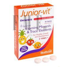 HEALTH AID Junior-vit - 30 Tabs.