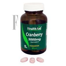 HEALTH AID Cranberry - 60 Tabs.