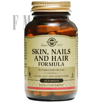 SOLGAR Skin, Nails & Hair Formula - 60 Tabs.