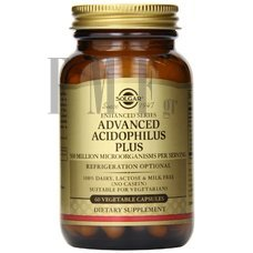 SOLGAR Advanced Acidophilus Plus - 60 Caps.