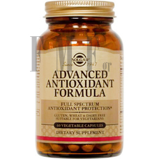 SOLGAR Advanced Antioxidant Formula - 60 Caps.