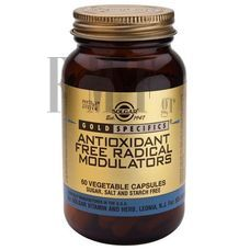 SOLGAR Antioxidant Free Radical Modulators - 60 Caps.