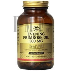 SOLGAR Evening Primrose Oil 500 mg - 180 Caps.