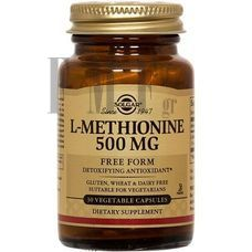 SOLGAR L-Methionine 500mg - 30 Caps.