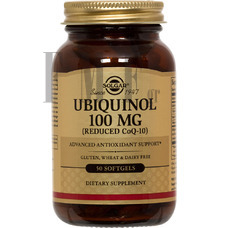 SOLGAR Ubiquinol 100 mg. - 50 Caps.