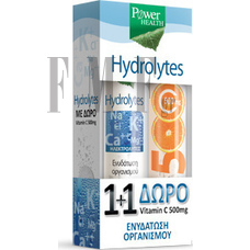 POWER HEALTH Hydrolytes 20 Tabs + EXTRA ΔΩΡΟ Vitamin C 500mg 20 Tabs
