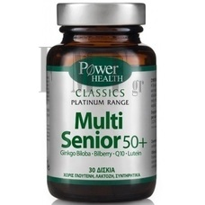 POWER HEALTH Platinum Range Multi Senior 50+ - 30 Tabs.