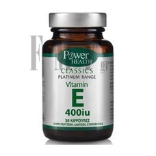 POWER HEALTH Platinum Range Vitamin E 400 IU - 30 Caps.
