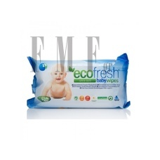 ASEPTA Ecofresh Baby Wipes - 72 Τεμ.