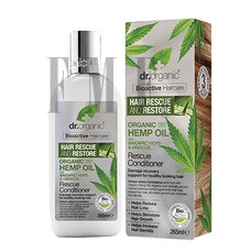 DR.ORGANIC Hemp Oil Rescue Conditioner - 265ml
