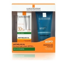 LRP Anthelios XL Promo SPF50+ Anti-brilliance Gel - Cream 50ml & ΔΩΡΟ Posthelios After Sun 100ml - 2τμχ