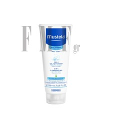 MUSTELA Bebe Enfant Gentle 2 in 1 Cleansing Gel Hair & Body - 200ml.