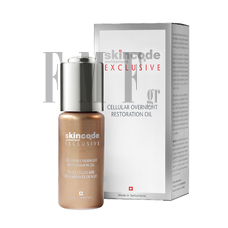 SKINCODE Cellular Overnight Restration Oil - 30ml.