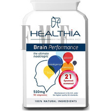HHealthia Brain Performance 90 ταμπλέτες
