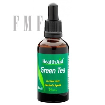 HEALTH AID Green Tea Liquid - 50 ml.